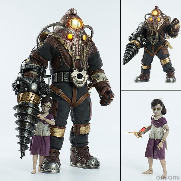 バイオショック2『実験体デルタ&リトルシスター』BioShock2 Subject Delta & Little Sister 1/6 可動フィギュア