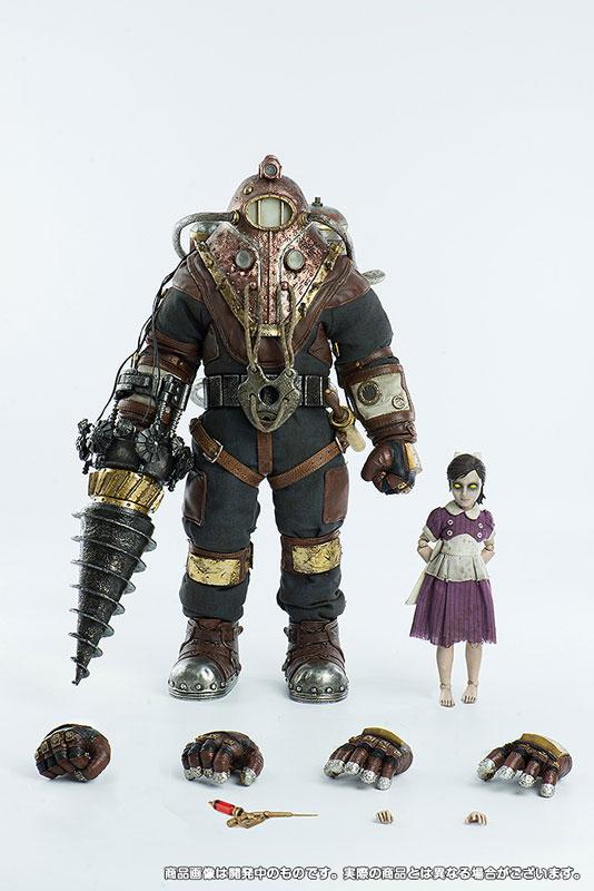 バイオショック2『実験体デルタ&リトルシスター』BioShock2 Subject Delta & Little Sister 1/6 可動フィギュア-001