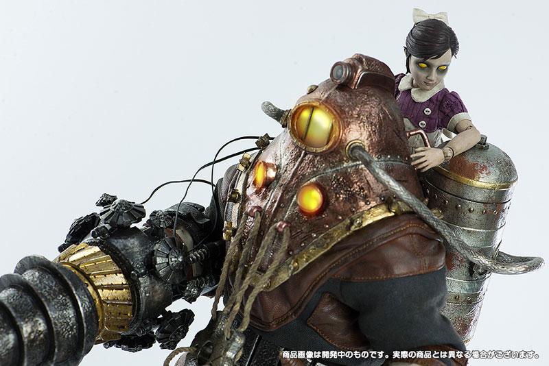 バイオショック2『実験体デルタ&リトルシスター』BioShock2 Subject Delta & Little Sister 1/6 可動フィギュア-009