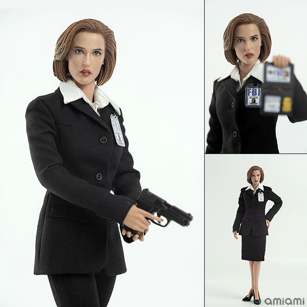 THE X FILES(X-ファイル)『AGENT SCULLY(スカリー捜査官)』1/6 可動フィギュア
