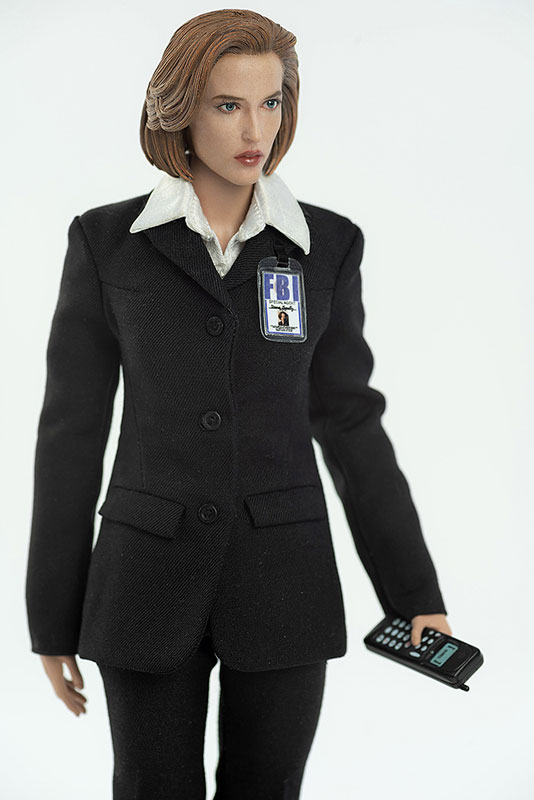 THE X FILES(X-ファイル)『AGENT SCULLY(スカリー捜査官)』1/6 可動フィギュア-005