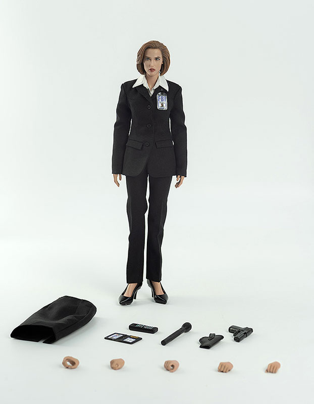 THE X FILES(X-ファイル)『AGENT SCULLY(スカリー捜査官)』1/6 可動フィギュア-006
