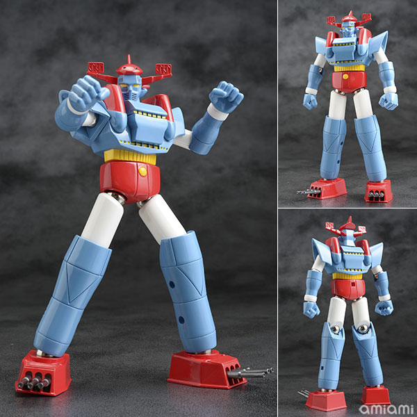 ダイナマイトアクション!『合体ロボット ムサシ』可動フィギュア