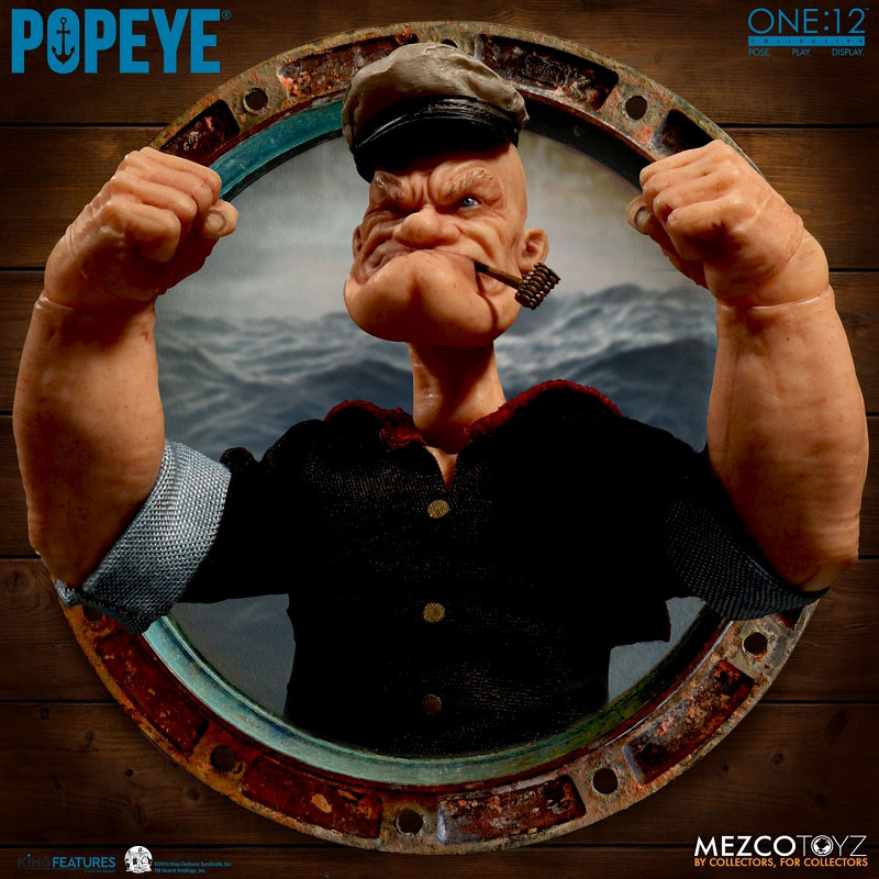 ワン12コレクティブ『POPEYE:ポパイ』1/12 アクションフィギュア-001