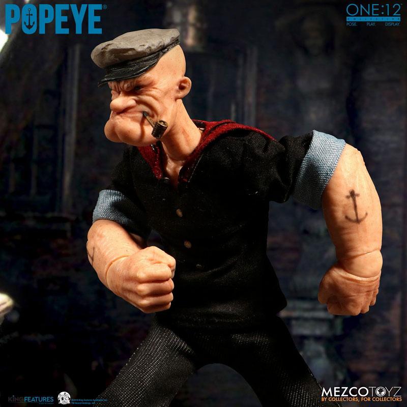ワン12コレクティブ『POPEYE:ポパイ』1/12 アクションフィギュア-002
