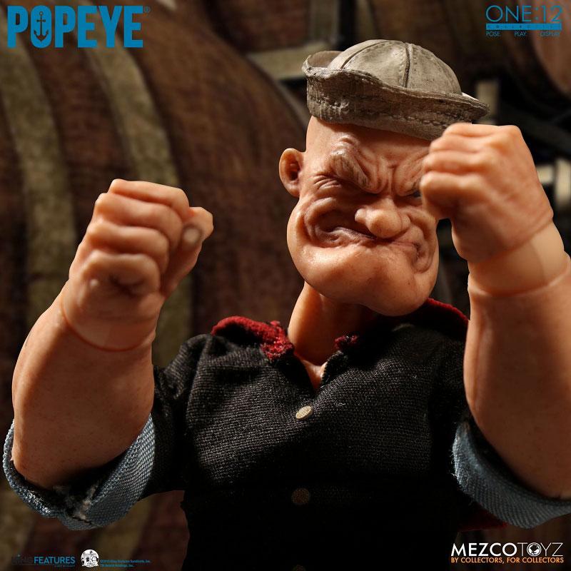 ワン12コレクティブ『POPEYE:ポパイ』1/12 アクションフィギュア-004