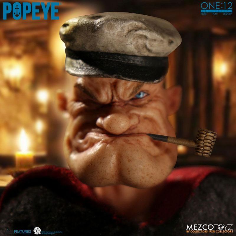 ワン12コレクティブ『POPEYE:ポパイ』1/12 アクションフィギュア-006