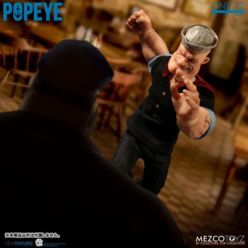 ワン12コレクティブ『POPEYE:ポパイ』1/12 アクションフィギュア-007