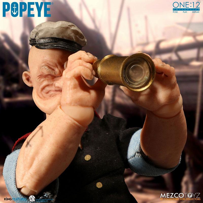 ワン12コレクティブ『POPEYE:ポパイ』1/12 アクションフィギュア-009