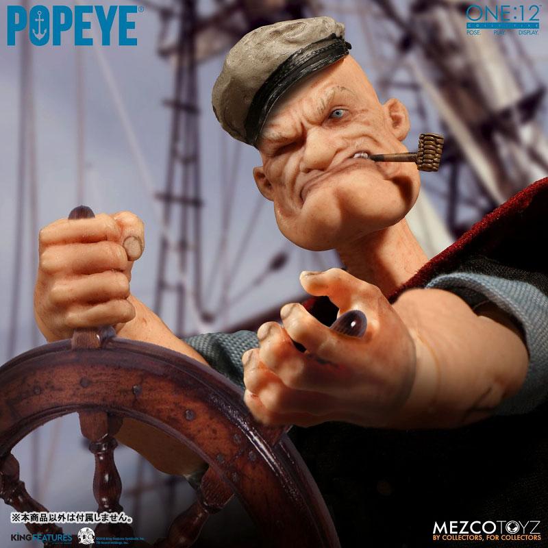 ワン12コレクティブ『POPEYE:ポパイ』1/12 アクションフィギュア-010