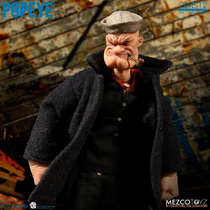 ワン12コレクティブ『POPEYE:ポパイ』1/12 アクションフィギュア-011