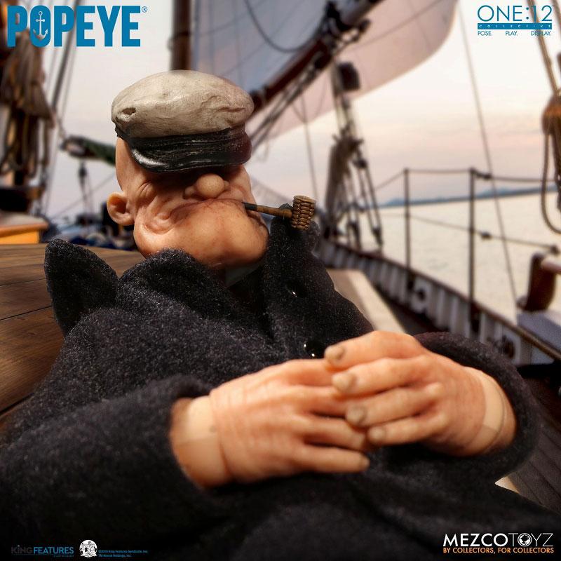 ワン12コレクティブ『POPEYE:ポパイ』1/12 アクションフィギュア-013