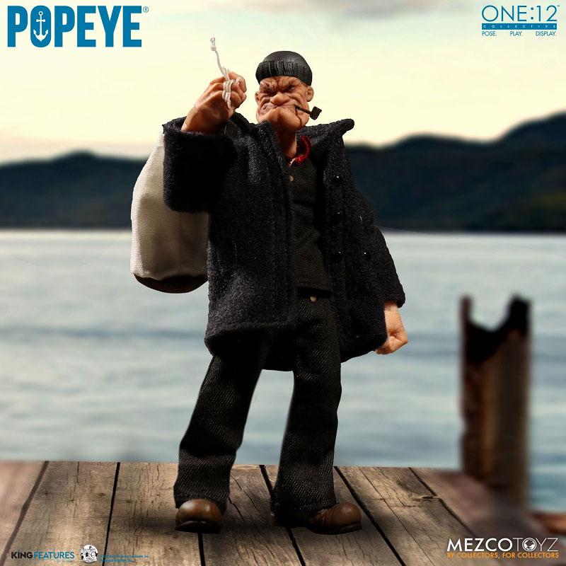 ワン12コレクティブ『POPEYE:ポパイ』1/12 アクションフィギュア-014
