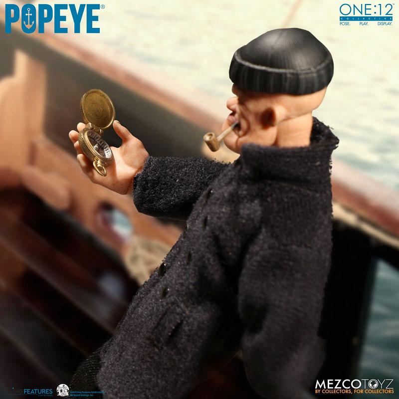 ワン12コレクティブ『POPEYE:ポパイ』1/12 アクションフィギュア-016
