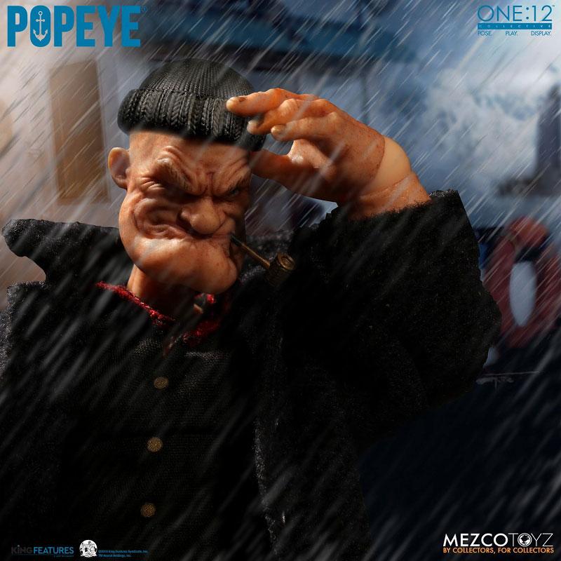 ワン12コレクティブ『POPEYE:ポパイ』1/12 アクションフィギュア-017