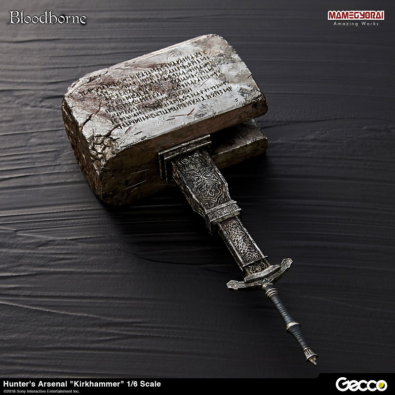 Bloodborne『ハンターズ・アーセナル:教会の石鎚』1/6スケール ウェポン-001