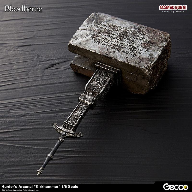 Bloodborne『ハンターズ・アーセナル:教会の石鎚』1/6スケール ウェポン-002