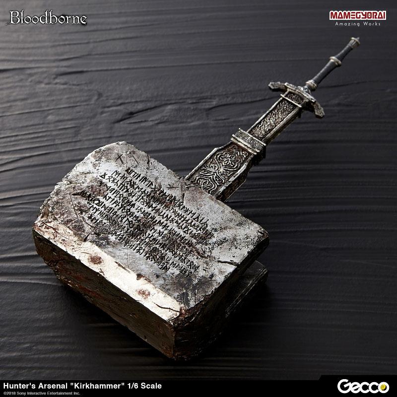 Bloodborne『ハンターズ・アーセナル:教会の石鎚』1/6スケール ウェポン-003
