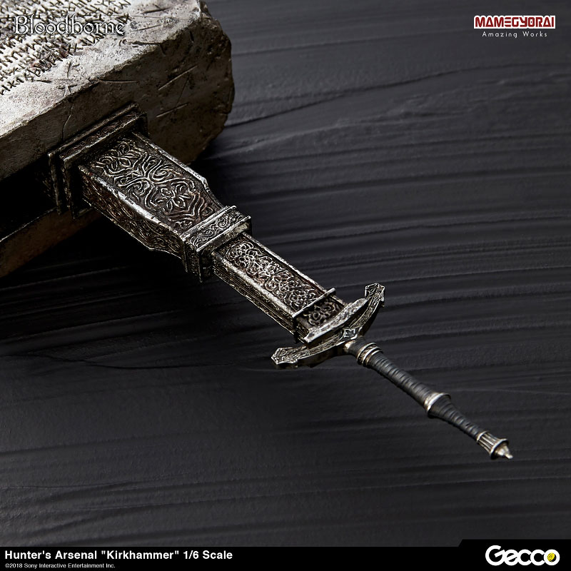 Bloodborne『ハンターズ・アーセナル:教会の石鎚』1/6スケール ウェポン-004