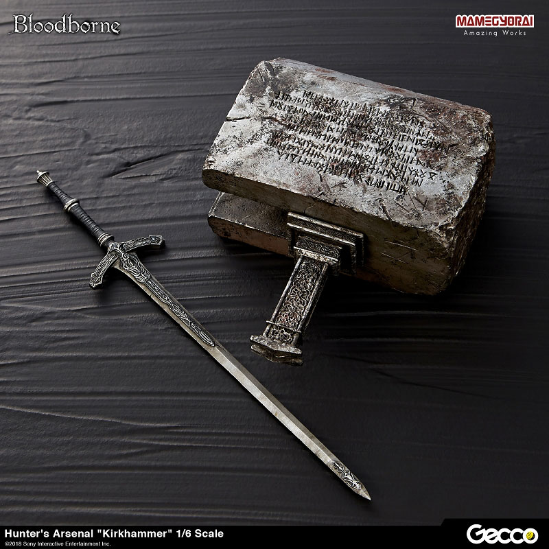 Bloodborne『ハンターズ・アーセナル:教会の石鎚』1/6スケール ウェポン-005