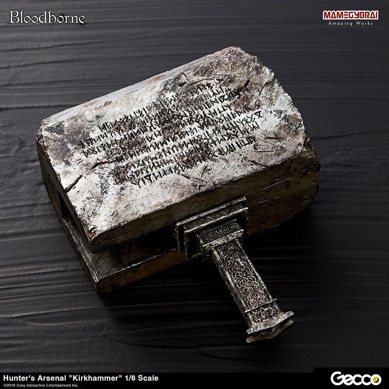 Bloodborne『ハンターズ・アーセナル:教会の石鎚』1/6スケール ウェポン-006