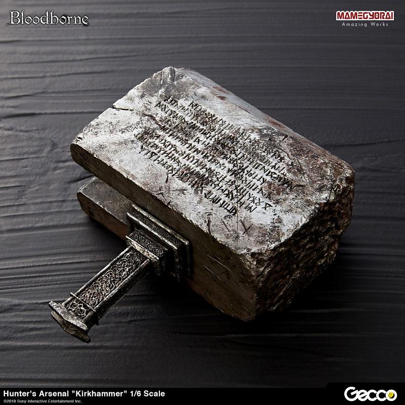 Bloodborne『ハンターズ・アーセナル:教会の石鎚』1/6スケール ウェポン-007