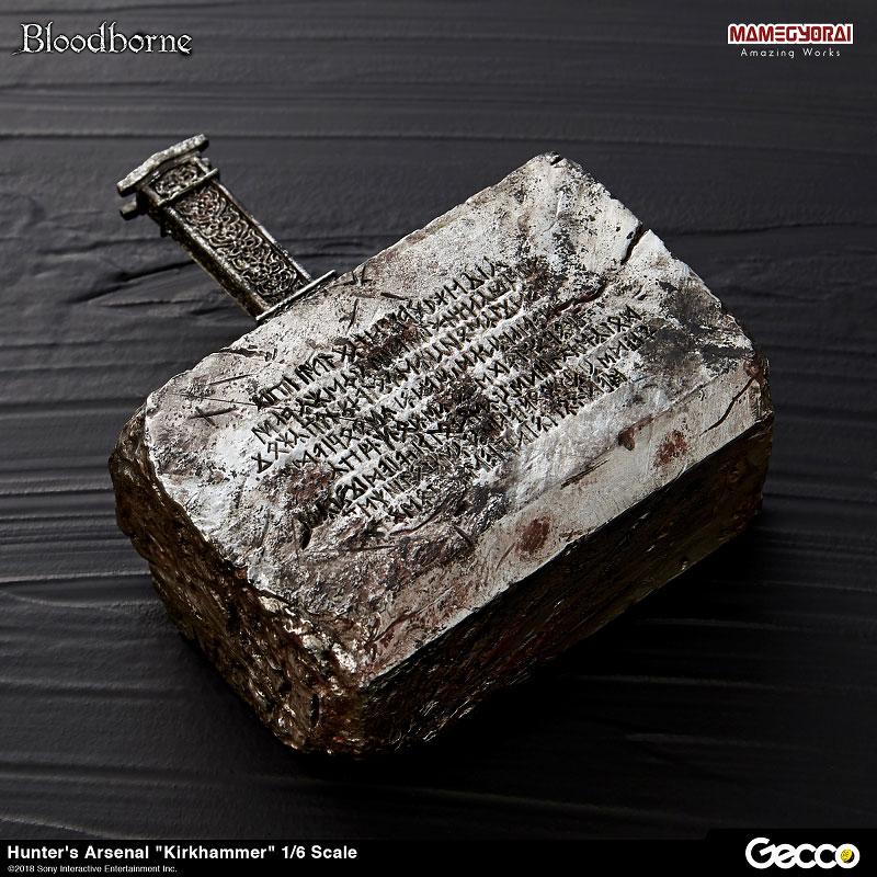Bloodborne『ハンターズ・アーセナル:教会の石鎚』1/6スケール ウェポン-008