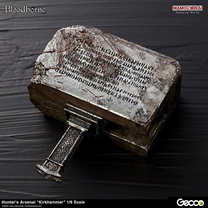 Bloodborne『ハンターズ・アーセナル:教会の石鎚』1/6スケール ウェポン-009