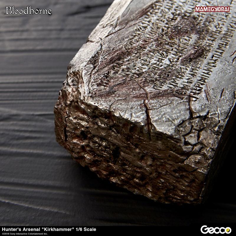 Bloodborne『ハンターズ・アーセナル:教会の石鎚』1/6スケール ウェポン-010