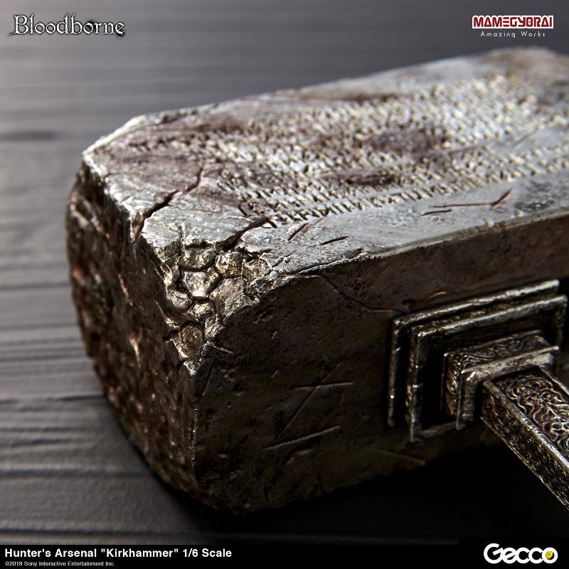 Bloodborne『ハンターズ・アーセナル:教会の石鎚』1/6スケール ウェポン-012