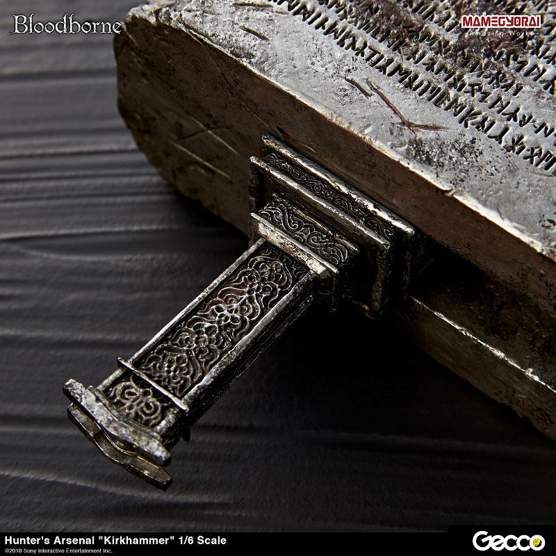 Bloodborne『ハンターズ・アーセナル:教会の石鎚』1/6スケール ウェポン-014