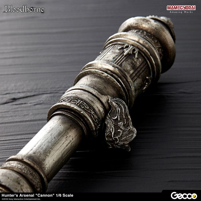 Bloodborne『ハンターズ・アーセナル:大砲』1/6スケール ウェポン-008