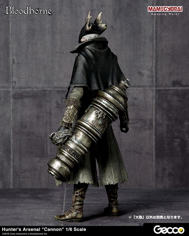 Bloodborne『ハンターズ・アーセナル:大砲』1/6スケール ウェポン-014