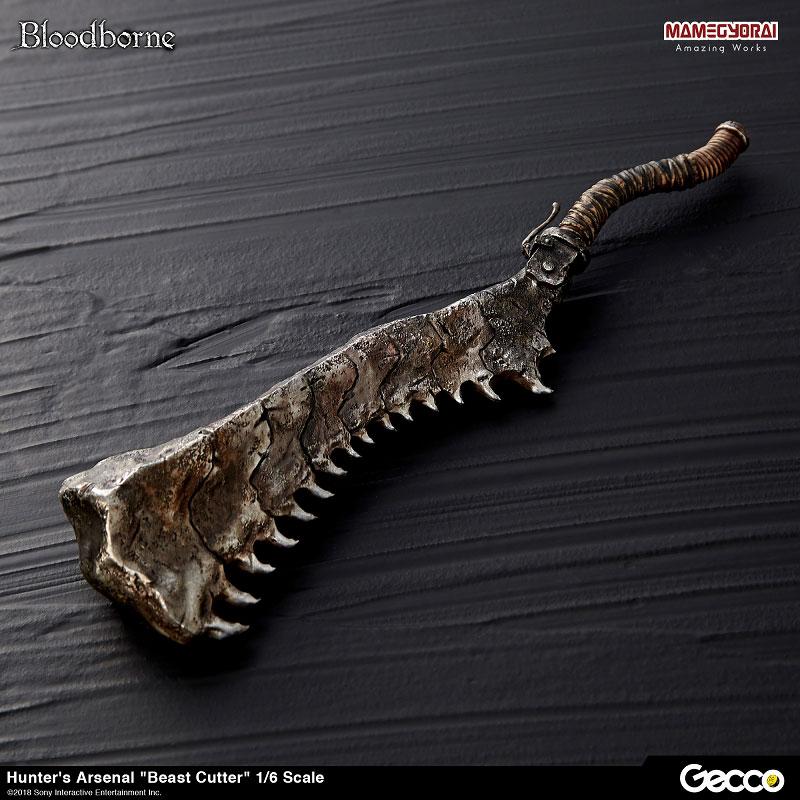 Bloodborne『ハンターズ・アーセナル:獣肉断ち』1/6スケール ウェポン-003