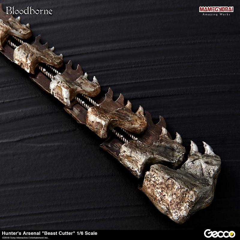 Bloodborne『ハンターズ・アーセナル:獣肉断ち』1/6スケール ウェポン-011