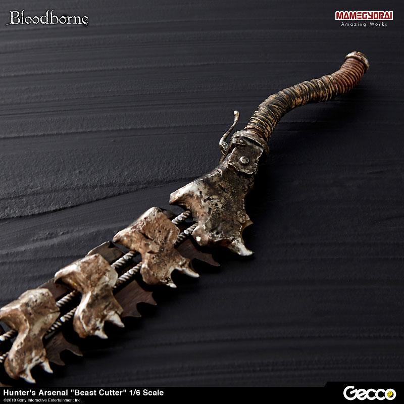 Bloodborne『ハンターズ・アーセナル:獣肉断ち』1/6スケール ウェポン-014