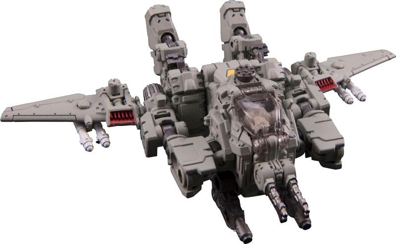 ダイアクロン『DA-28 パワードシステム マニューバデルタ』可変可動フィギュア-006