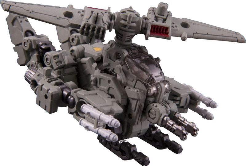 ダイアクロン『DA-28 パワードシステム マニューバデルタ』可変可動フィギュア-009