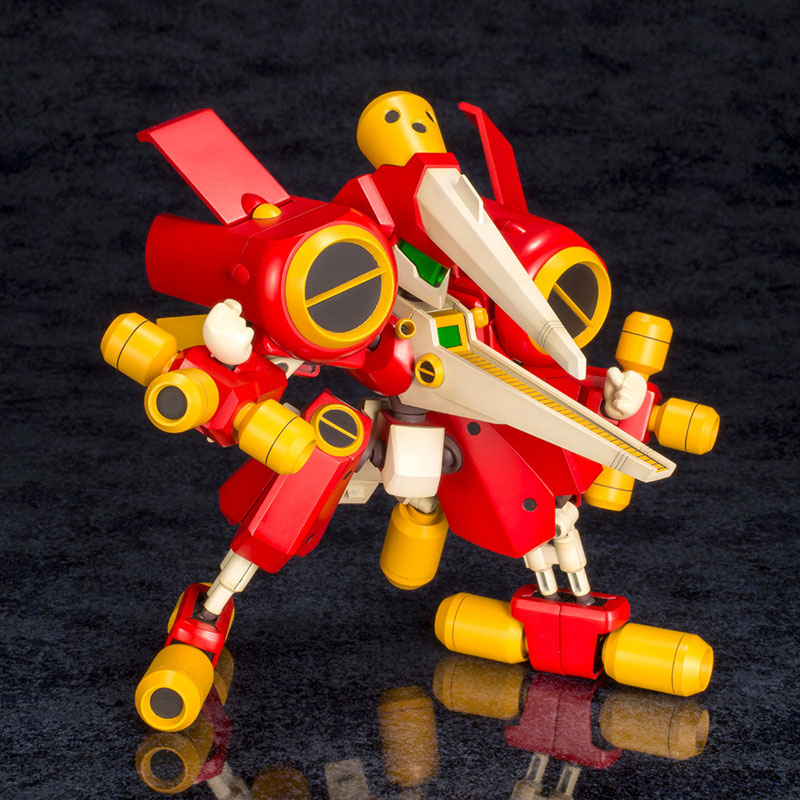 メダロット『KBT06-C アークビートルダッシュ』1/6 プラモデル-001