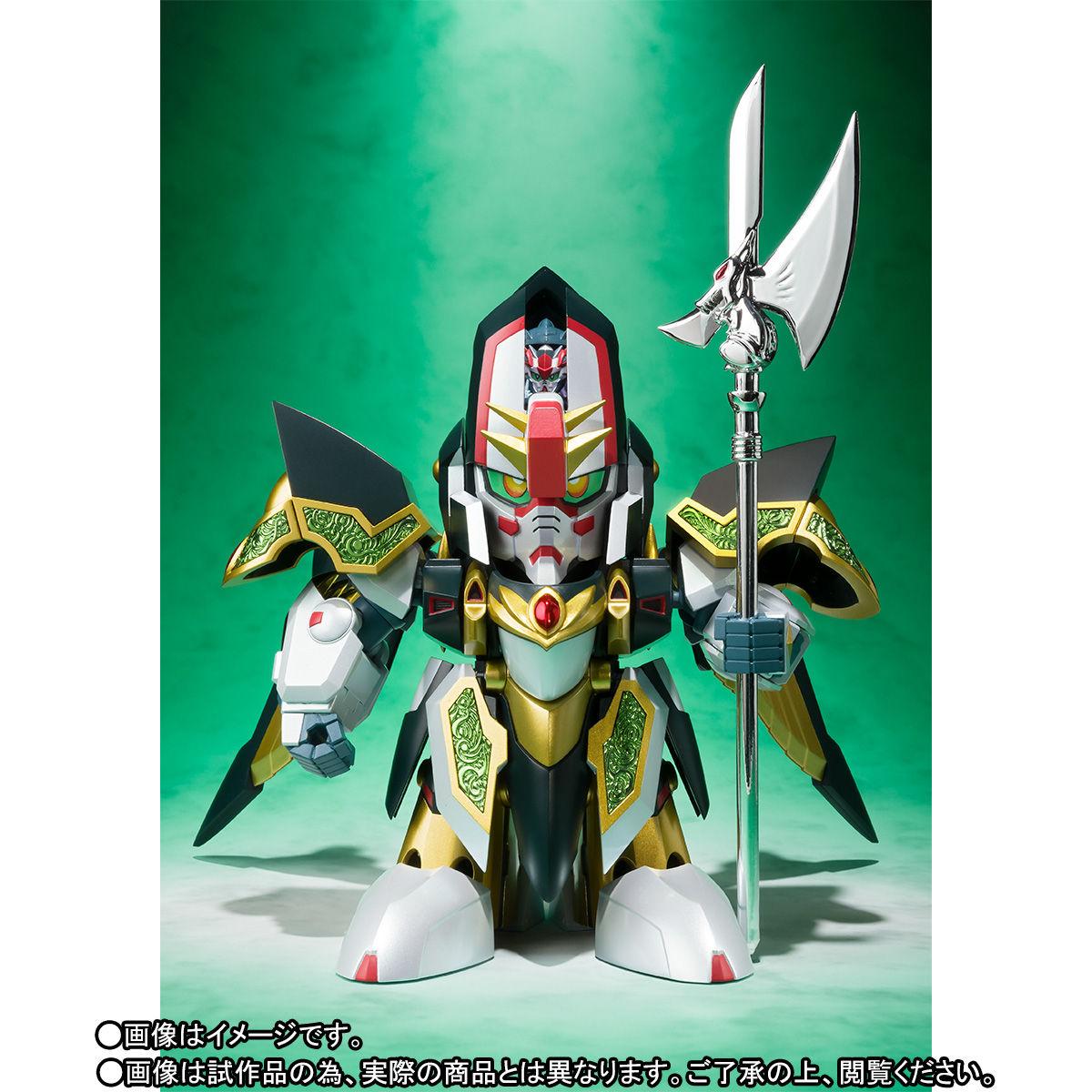 SDX『龍機ドラグーン 新SDガンダム外伝』可変可動フィギュア-002