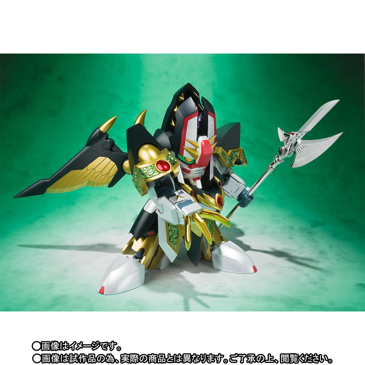 SDX『龍機ドラグーン 新SDガンダム外伝』可変可動フィギュア-004