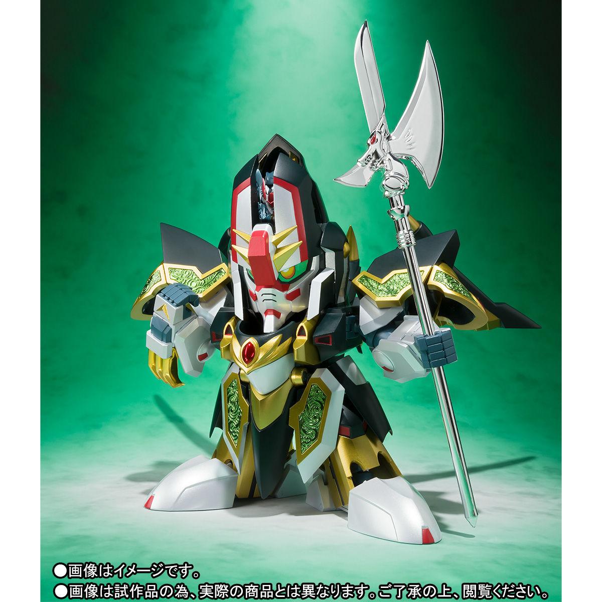 SDX『龍機ドラグーン 新SDガンダム外伝』可変可動フィギュア-005