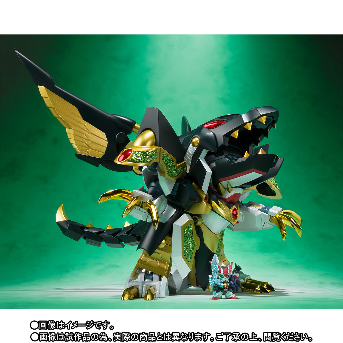 SDX『龍機ドラグーン|新SDガンダム外伝』可変可動フィギュア-006