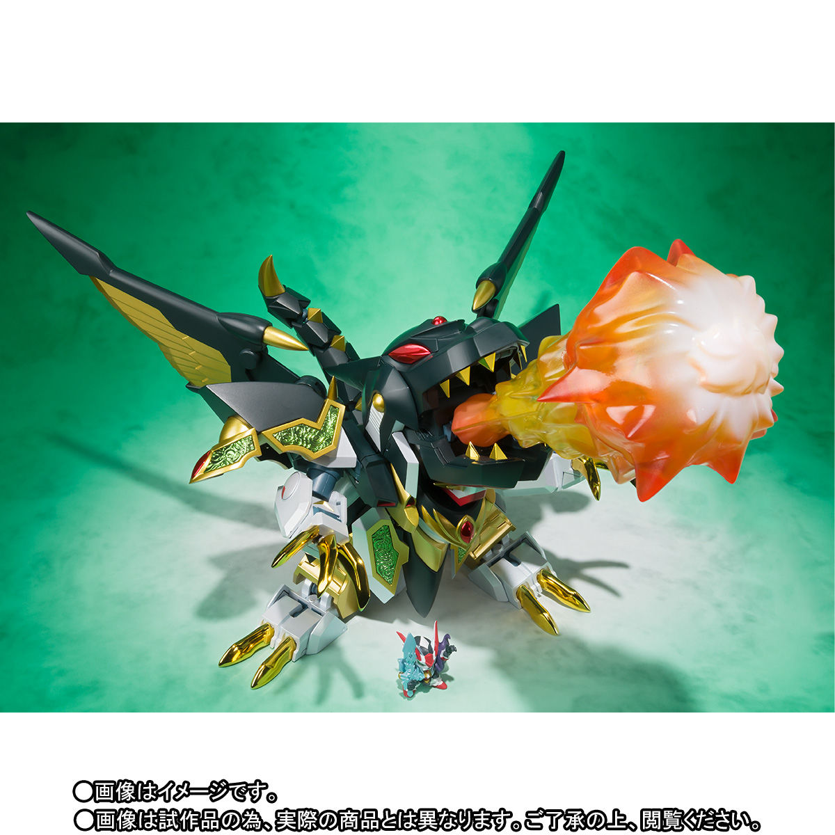 SDX『龍機ドラグーン|新SDガンダム外伝』可変可動フィギュア-010