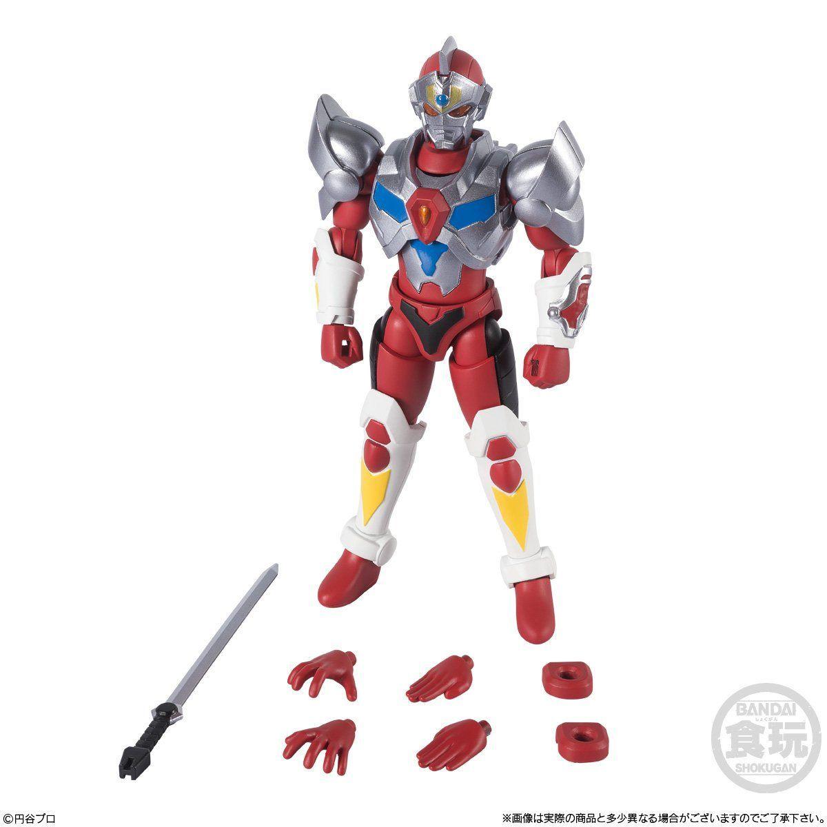 スーパーミニプラ『電光超人グリッドマン』4個入 BOX-007