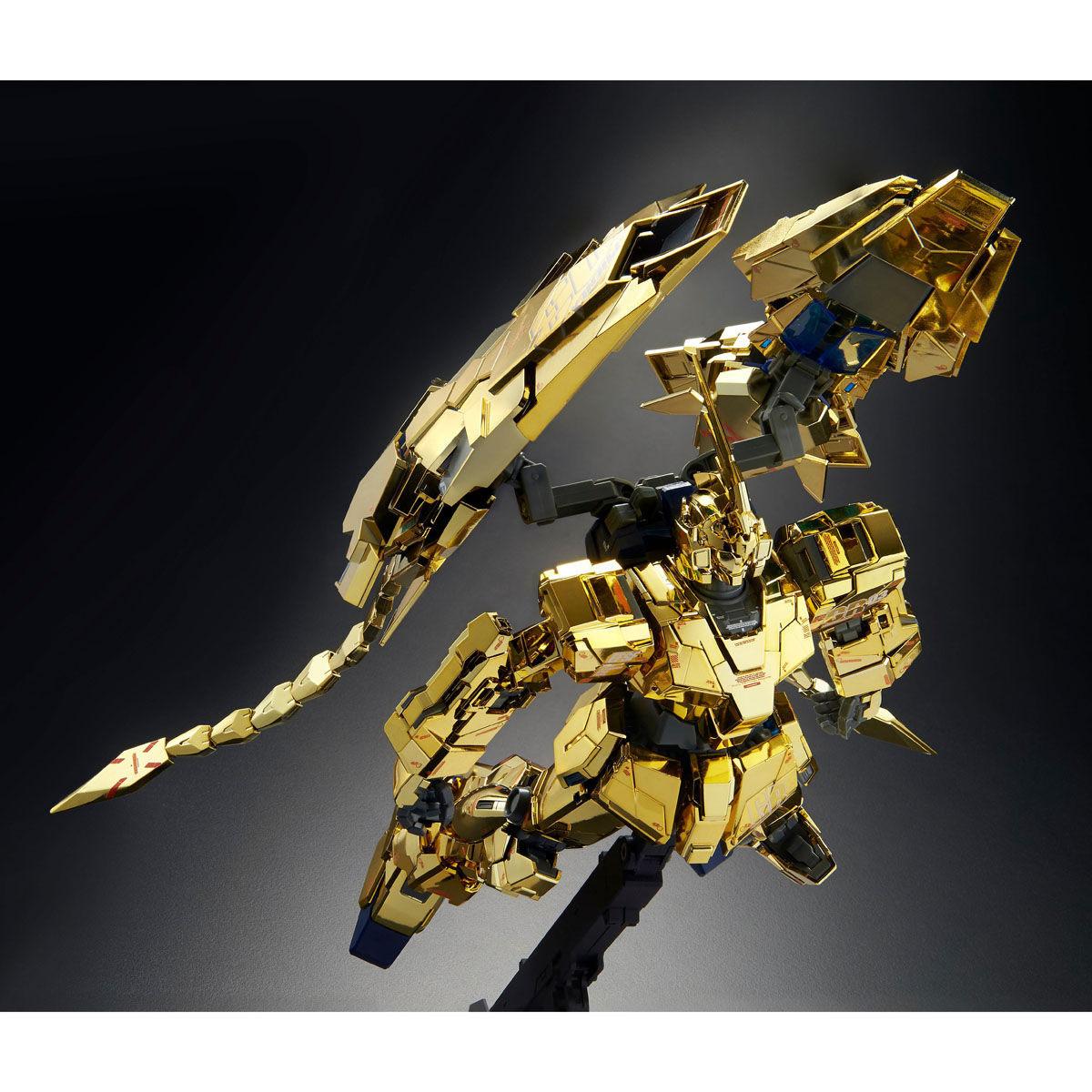 MG 1/100『ユニコーンガンダム3号機 フェネクス(ナラティブVer.)』プラモデル-006