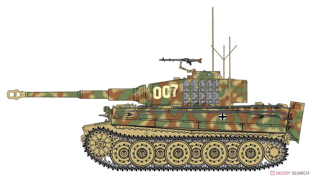 WW.II ドイツ軍『ティーガーI 後期生産型|ヴィットマン ラスト タイガー』1/35 プラモデル-001