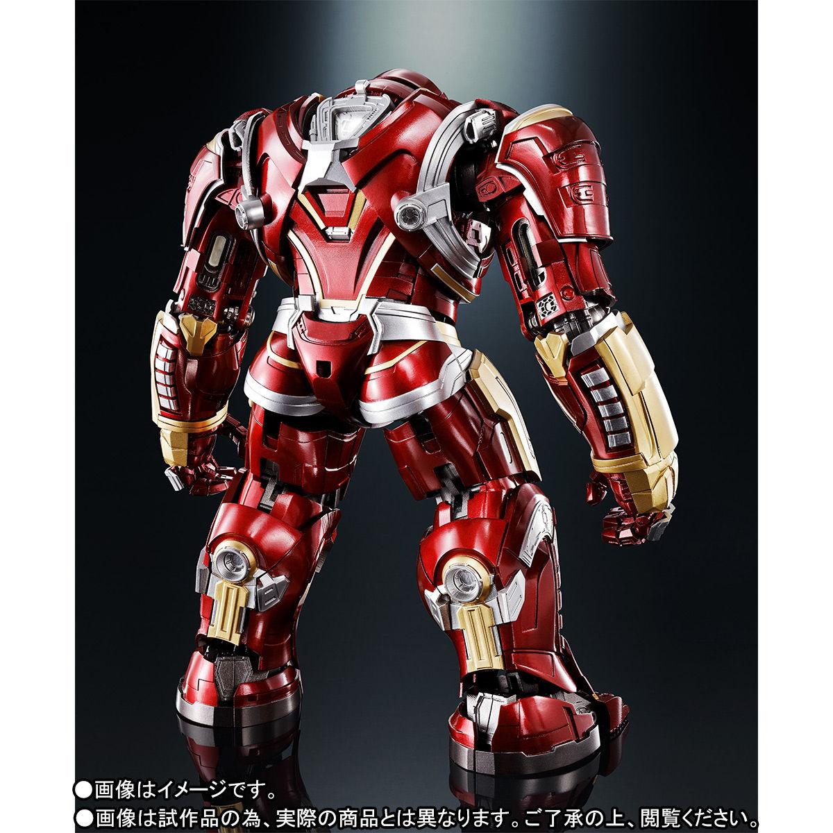 超合金×S.H.Figuarts『ハルクバスター マーク2 アベンジャーズ/インフィニティ・ウォー』可動フィギュア-006