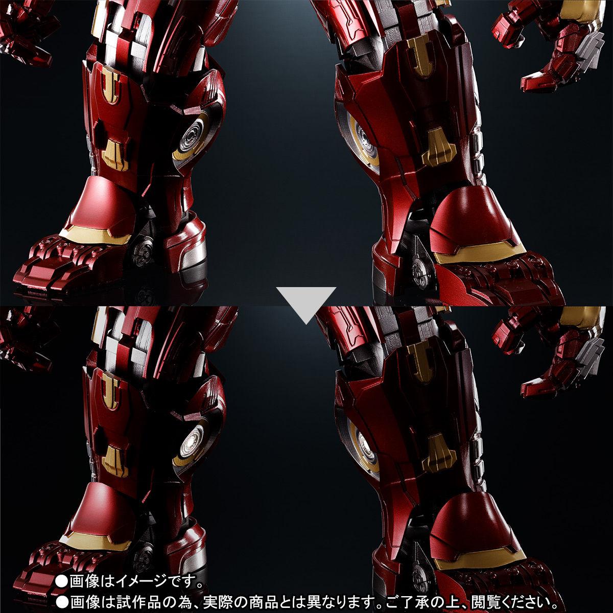 超合金×S.H.Figuarts『ハルクバスター マーク2 アベンジャーズ/インフィニティ・ウォー』可動フィギュア-009