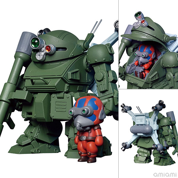 Robonimo『ATM-09-ST スコープドッグ ラウンドムーバー』装甲騎兵ボトムズ デフォルメ可動フィギュア